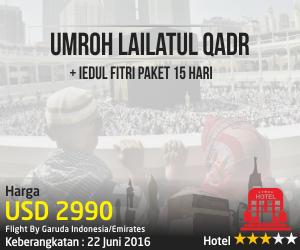 Umroh Lailatul Qadr + Ied 15 Hari