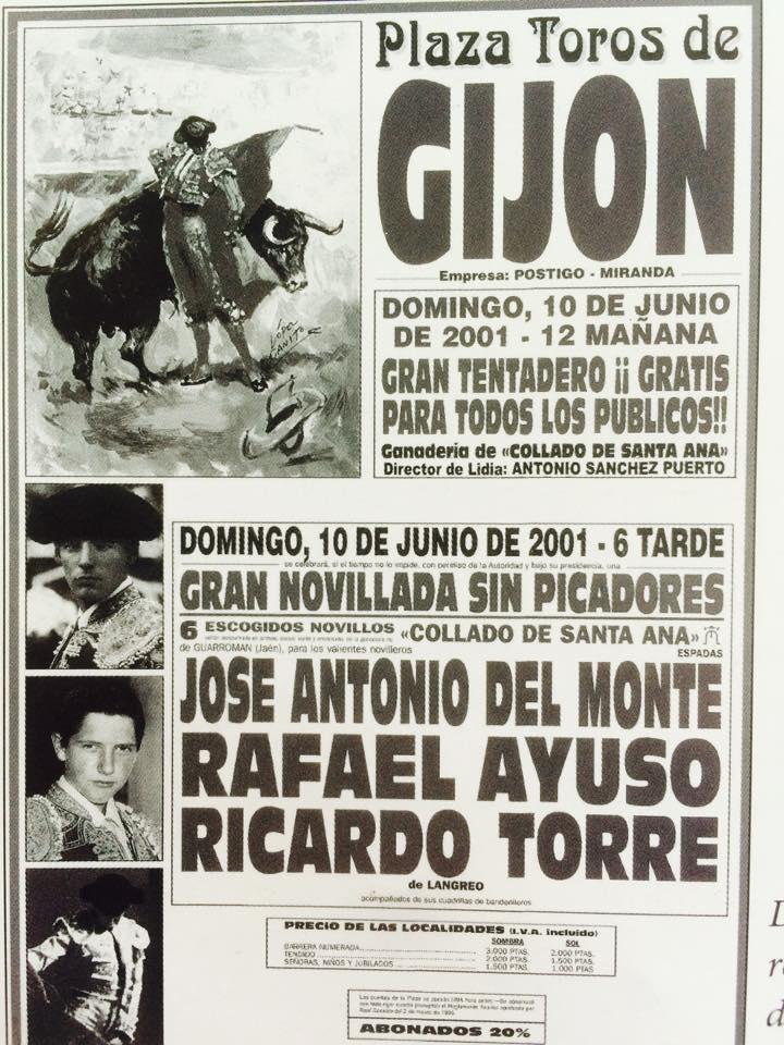 GIJON CARTEL TENTADERO AFICIONADOS