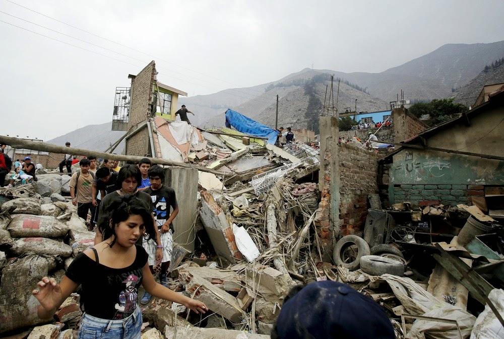 Смертоносный оползень в Перу