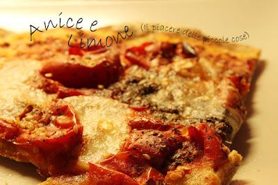 pizza con farina di kamut - senza lievito