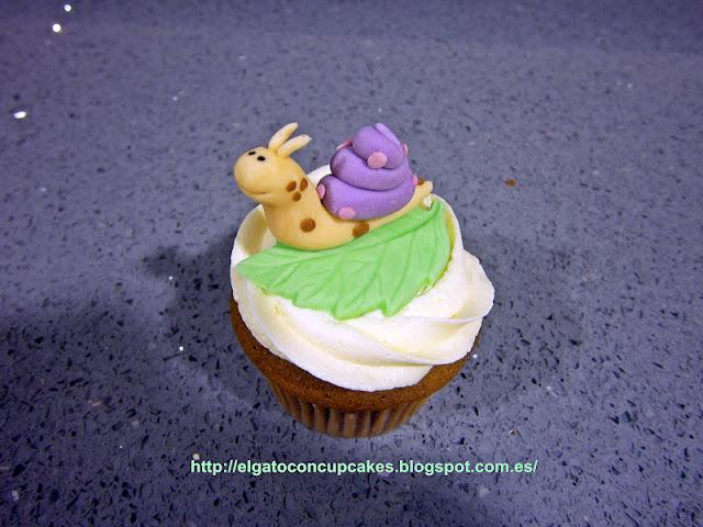 cupcake caracol