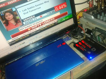 cara memasang dvb card pada laptop