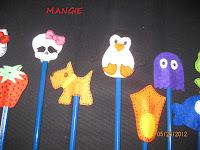 Modelos para lápices en fieltro