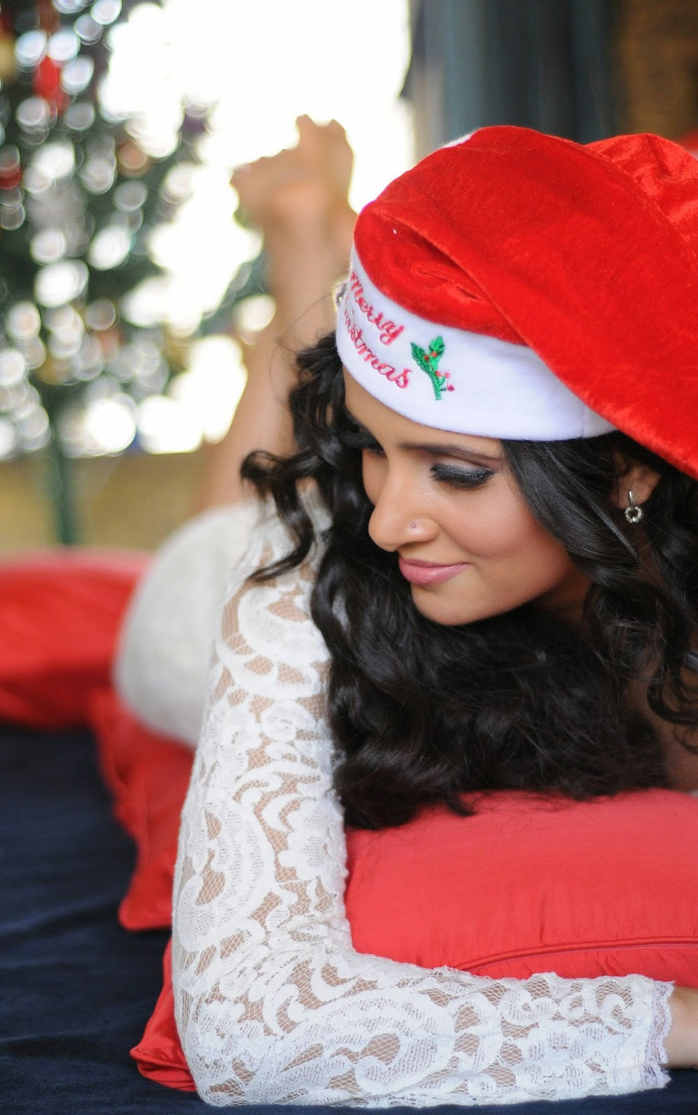 Shweta Khanduri Christmas Celebrations Stills