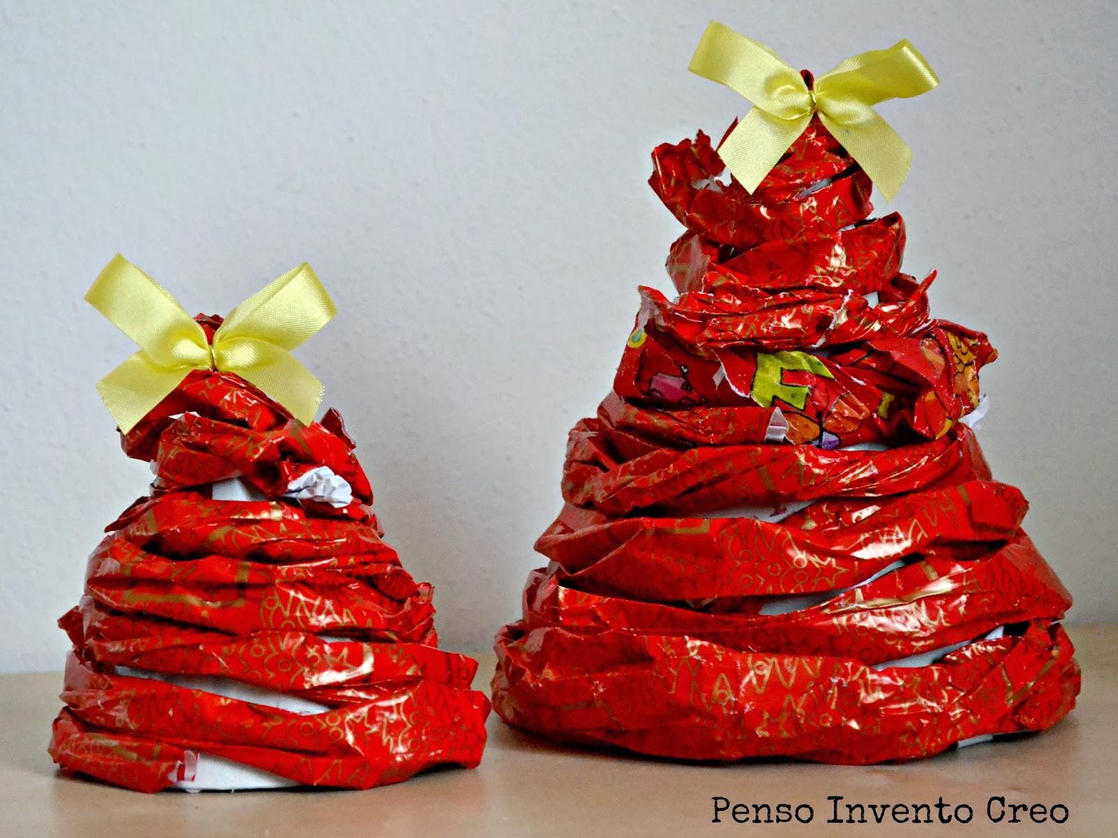 Riciclo la carta da regalo usata penso invento creo for Regalo roba usata