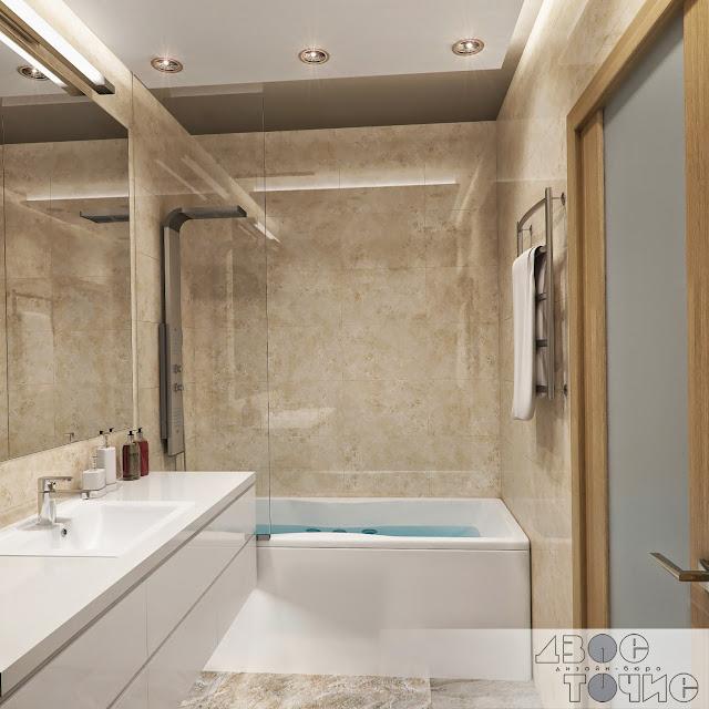 Перегородка RAVAK в ванной