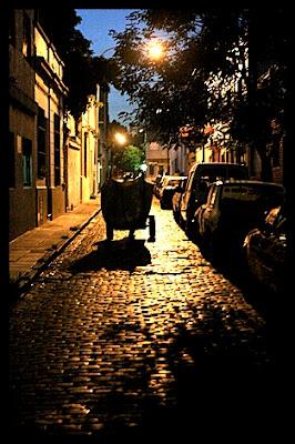 San Telmo de noche