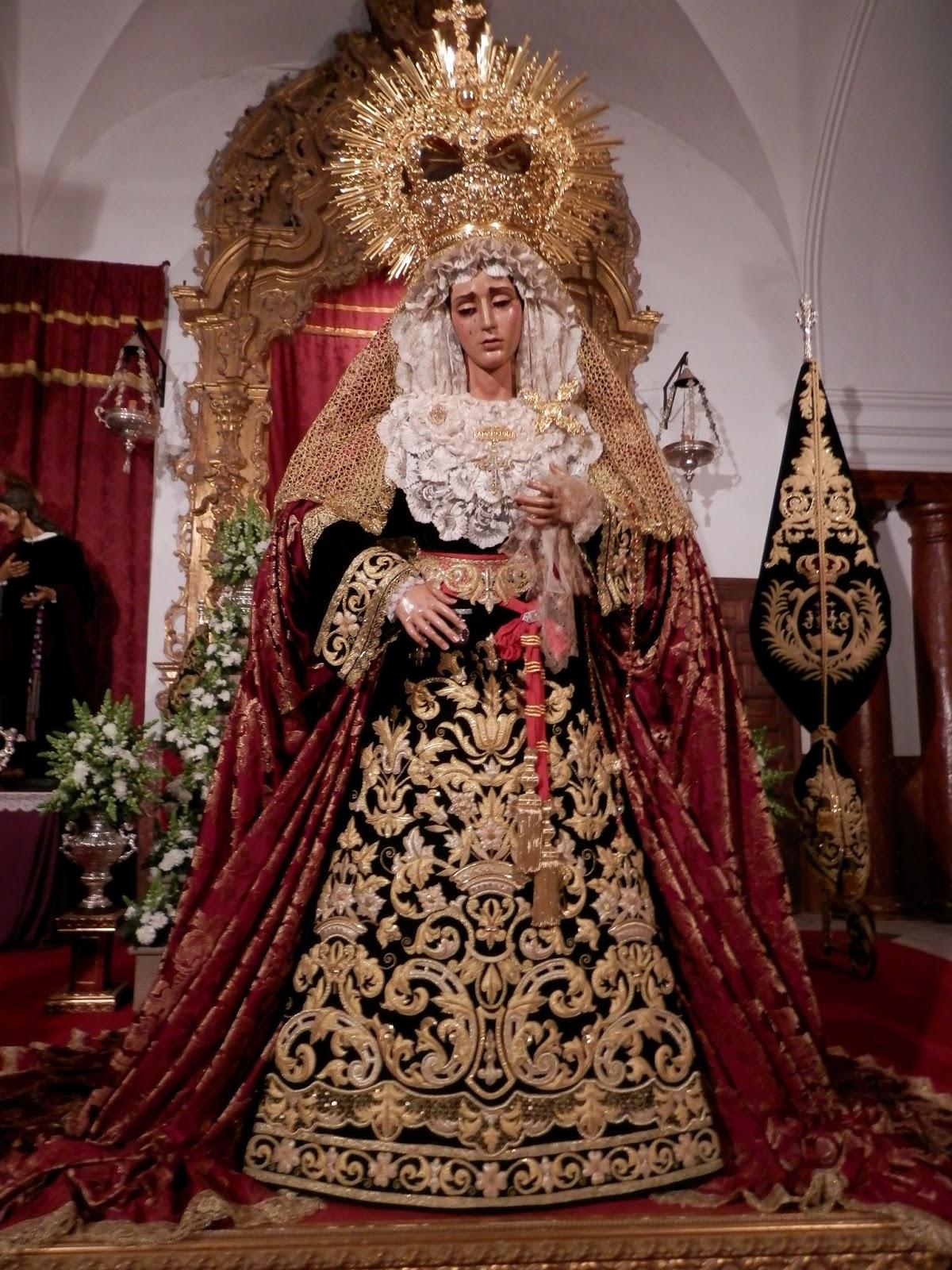 María Santísima de la Amargura, Hermandad del Santo Entierro de Paradas