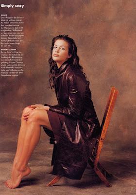 Actress, Liv Tyler, rock-star father