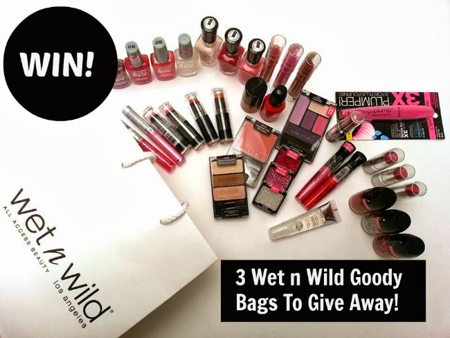 Wet n Wild giveaway on www.fluffandfripperies.com