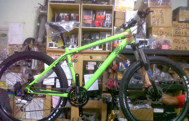 commencal elcamino green