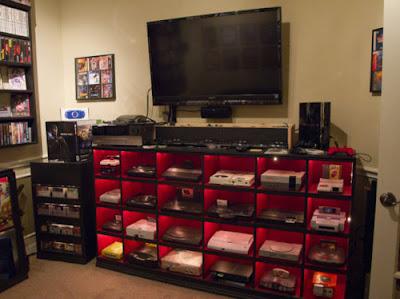 habitacion de videojuegos