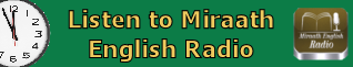 LISTEN TO MIRAATH ENGLISH RADIO