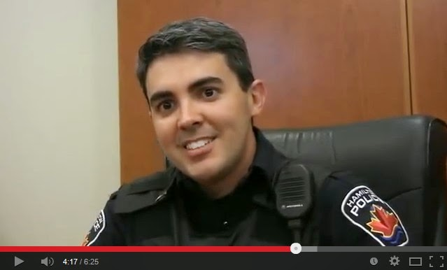 POLICIAL DECEPCIONADO VIRA POLICIAL NO CANADA