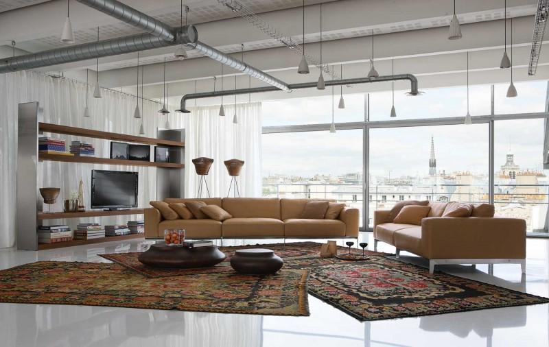 Upholsteri Sofa Moden Dan Kontemporari Keluaran Roche Bobois ...
