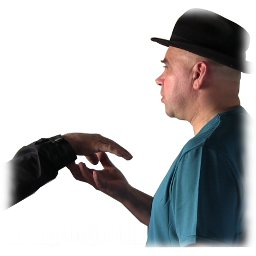 Catalepsia de mano, truco de mentalismo