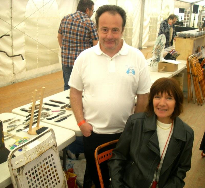 Avec Fernando ramos , Le spécialiste du Guillochage.