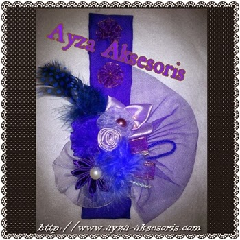 Headband Sweet Purple - Ayza Aksesoris