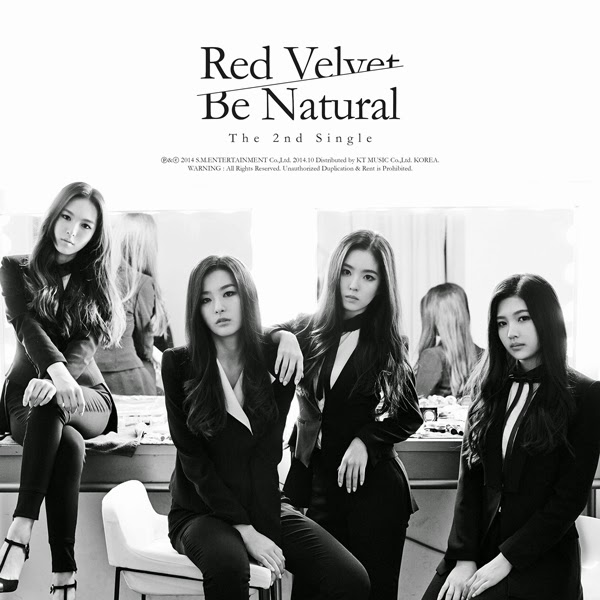 Red Velvet Be Natural Cover
