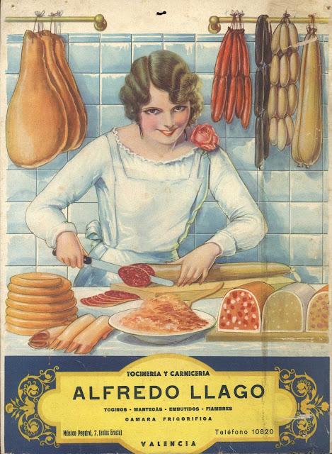 calendario, tocineria y carniceria