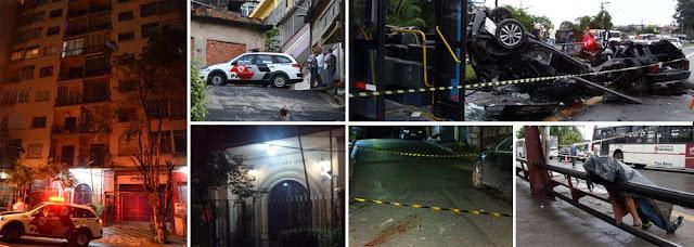 Geraldo alckmin  SP: Arrastões assustam e homicídios crescem 15%