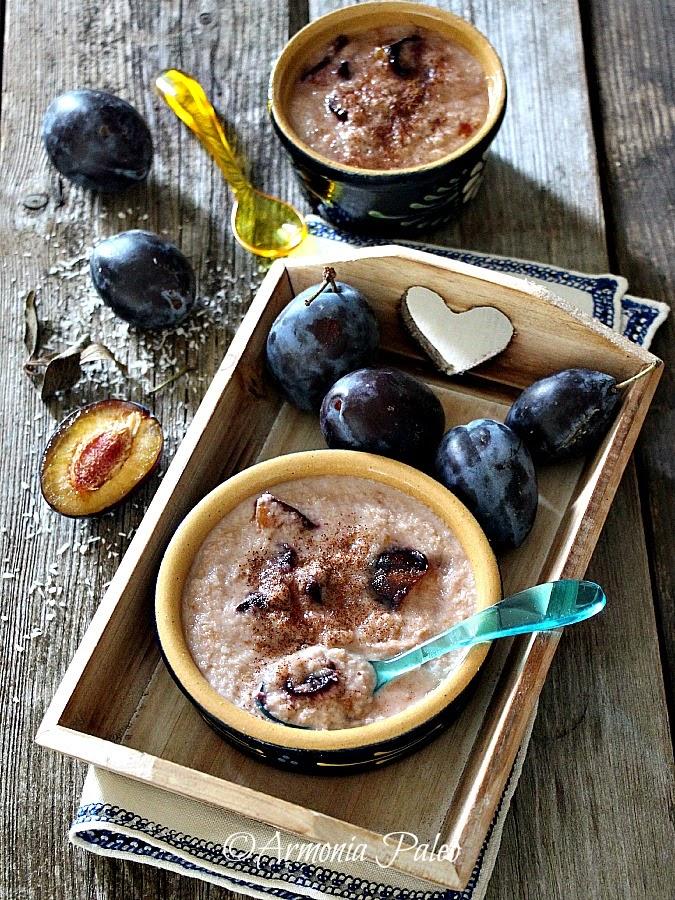Porridge di Cocco alle Prugne di Armonia Paleo