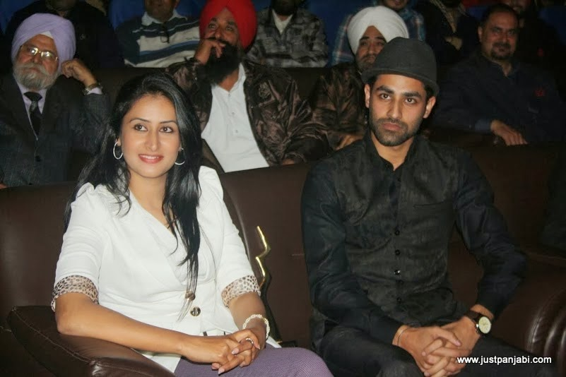 Jaspinder Cheema and Preet Bhullar enjoying Just Panjabi sponsored event PCGH