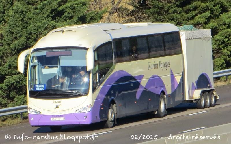 voyage maroc bus
