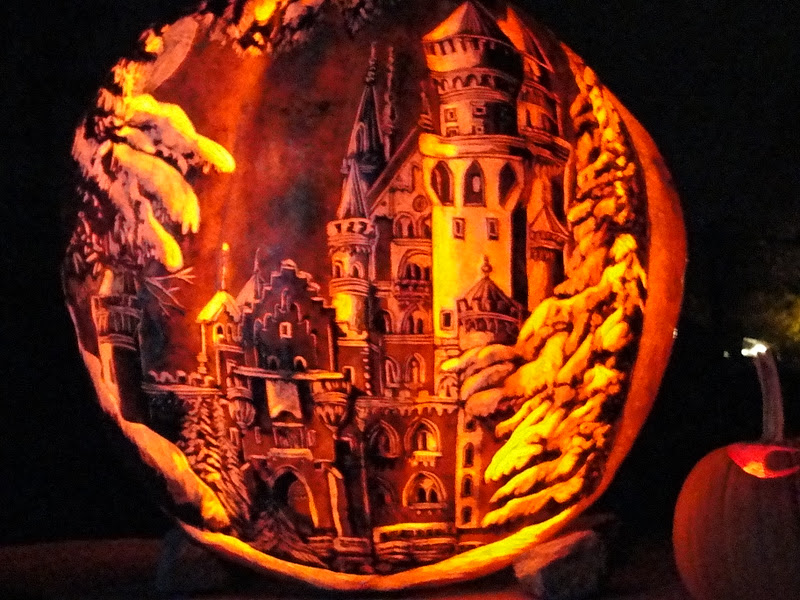 Autumn Pumpkin Carving Carved Pumpkins All Along