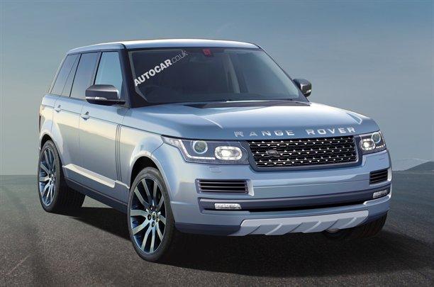 Novo Range Rover para 2013