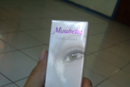 Review : Mirabella Lipstick Colorfix no 50.