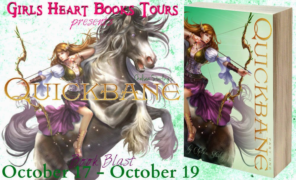 Book Blitz: QUICKBANE by Chelsea Starling