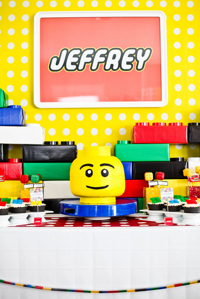 Kara's Party Ideas Lego Themed Birthday Party! | Kara's Party Ideas
