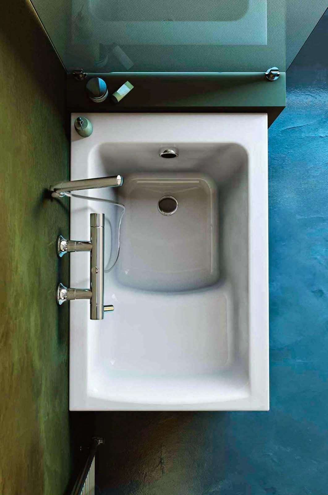 Ceramiche appia nuova vasca quante soluzione per un bagno di piacere - Vasca da bagno angolare piccola ...