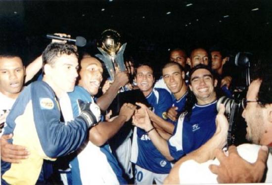Cruzeiro foi duas vezes campeão da extinta Copa Sul-Minas, em 2001 e 2002