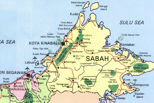 Sipadan Map Malaysia