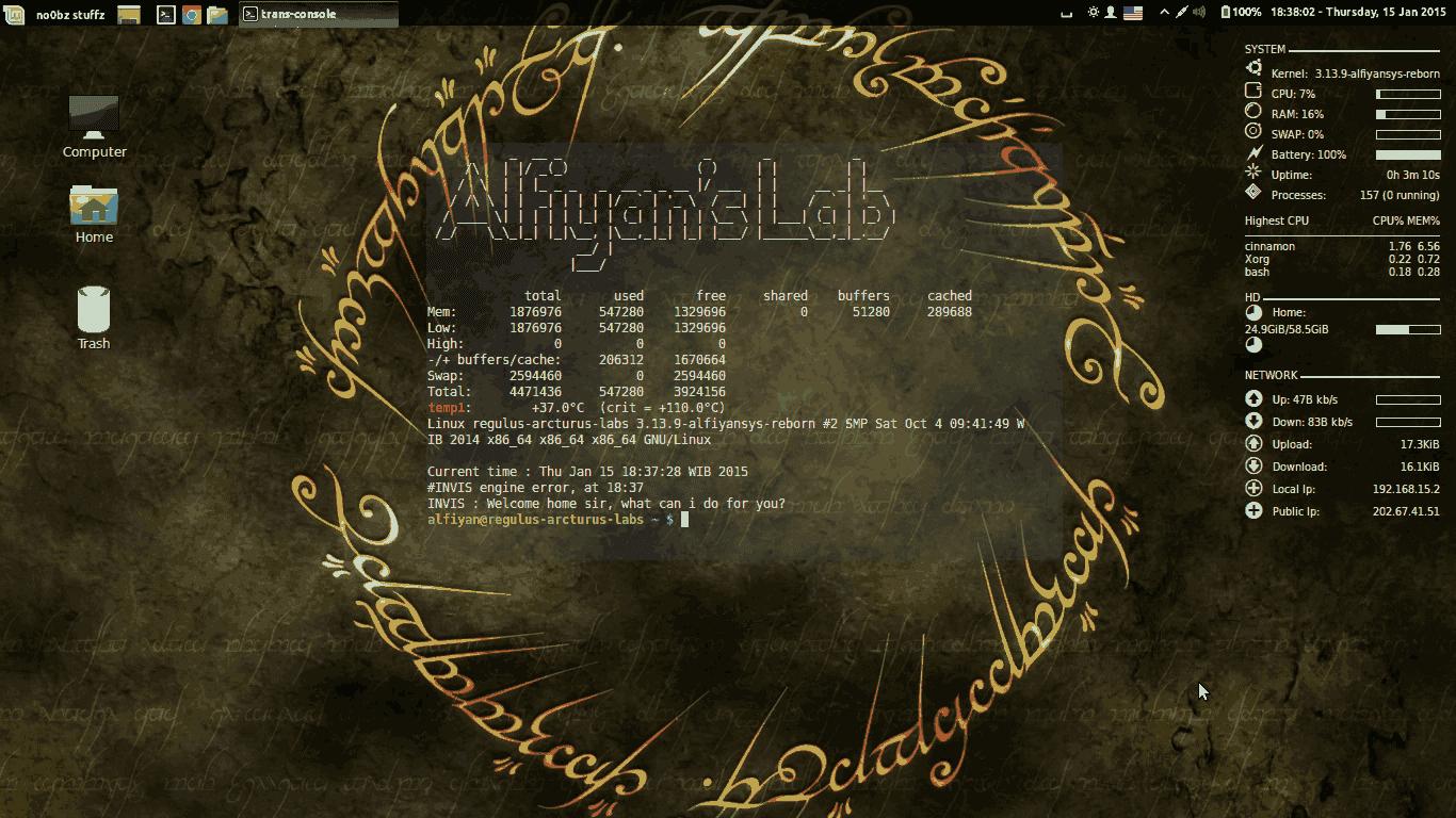 Devilspie pada Linux Mint 13 Maya