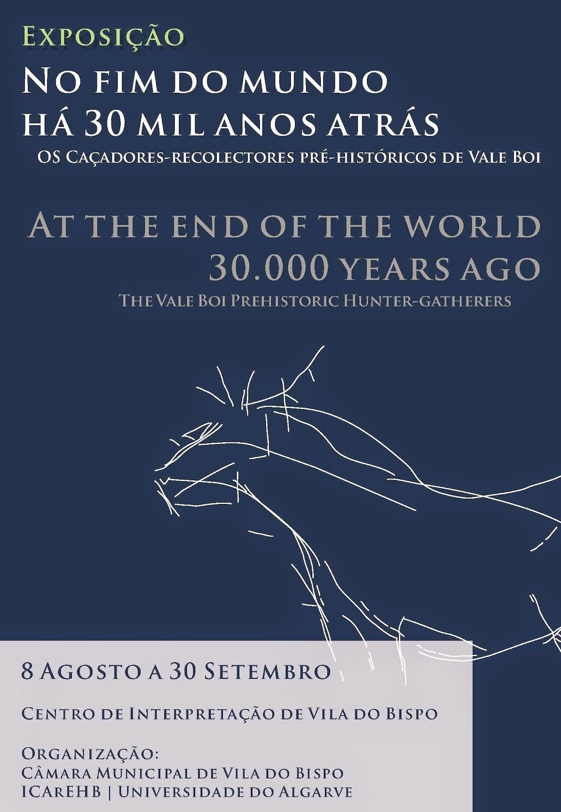 No Fim do Mundo há 30 Mil Anos Atrás