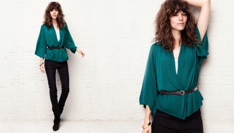 Freja Beha Erichsen & Heidi Mount for H&M's 'New Silhouettes' Collection