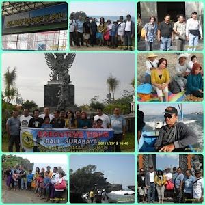 Study Tour Bali Camat dan Lurah seKecamatan Banjarmasin Timur 19-12-12 s/d 01-12-2012