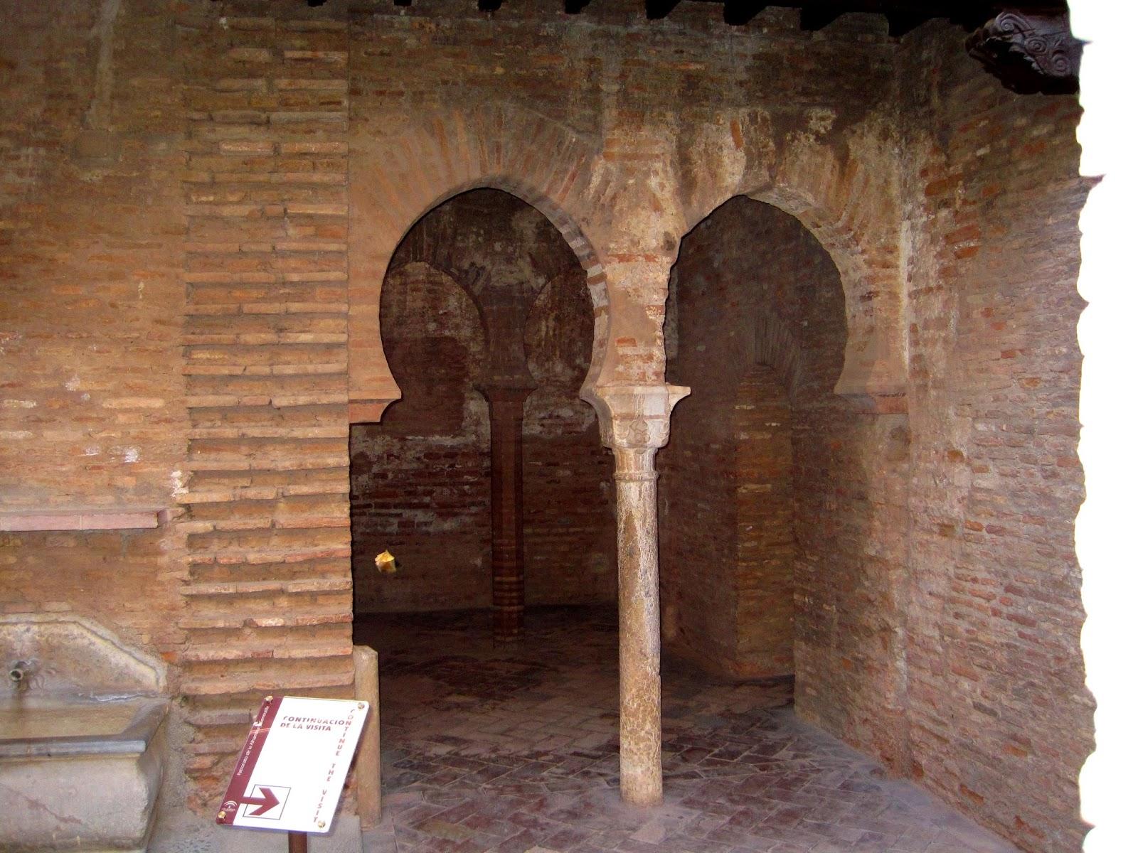 Arabes Real De La Alhambra:baños de la mezquita mayor de la alhambra ...