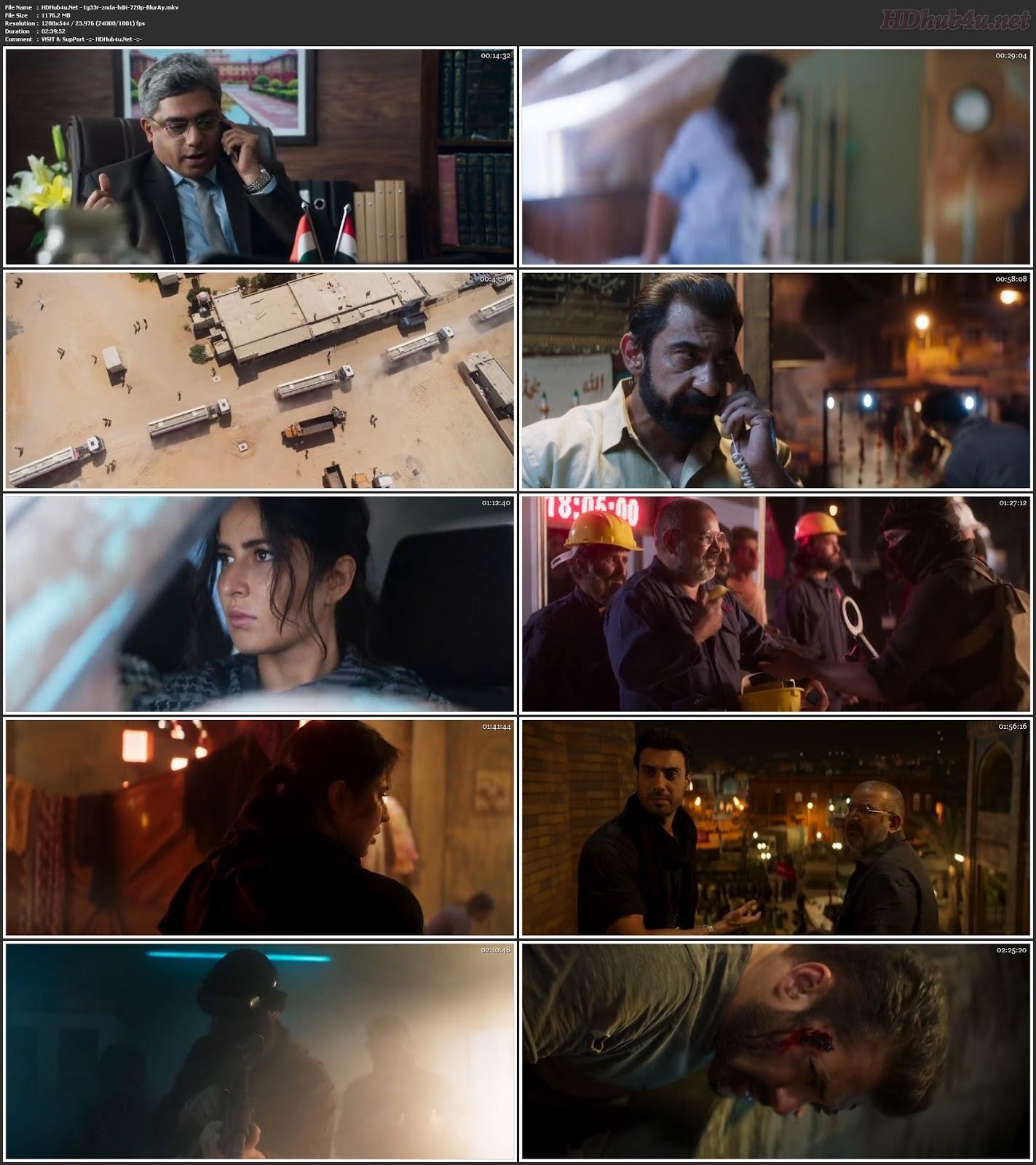 Tiger Zinda Hai 2017 Hindi Movie 480p BluRay 450MB Download