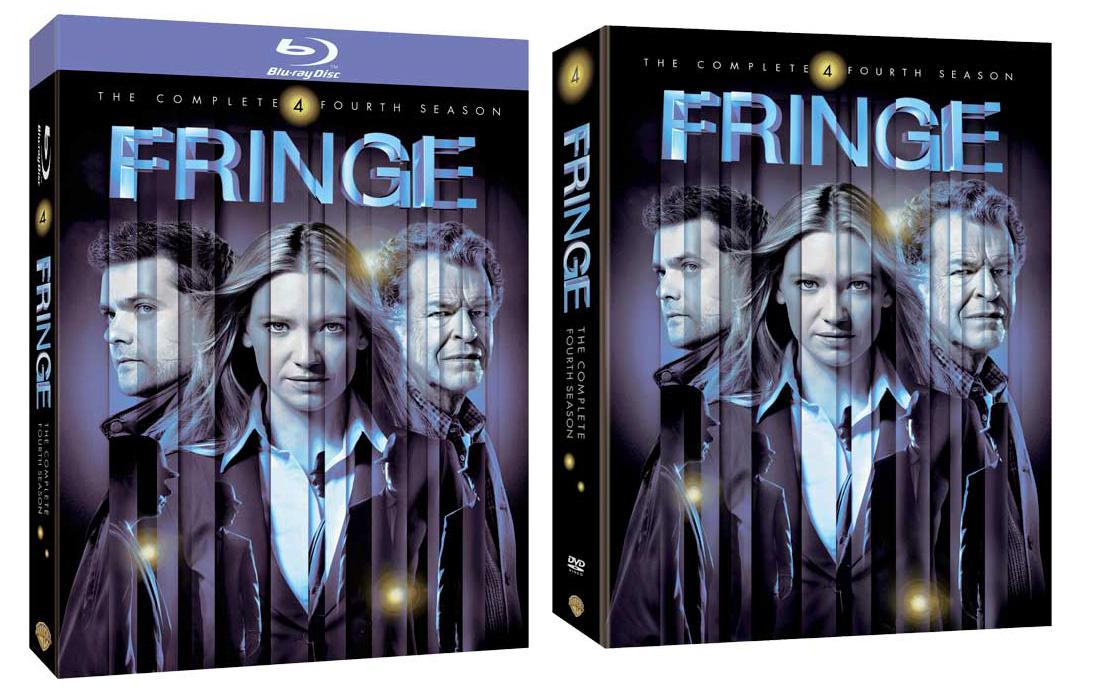 LA ZONA PROHIBIDA: FRINGE 4 Temporada en DVD y Blu-Ray