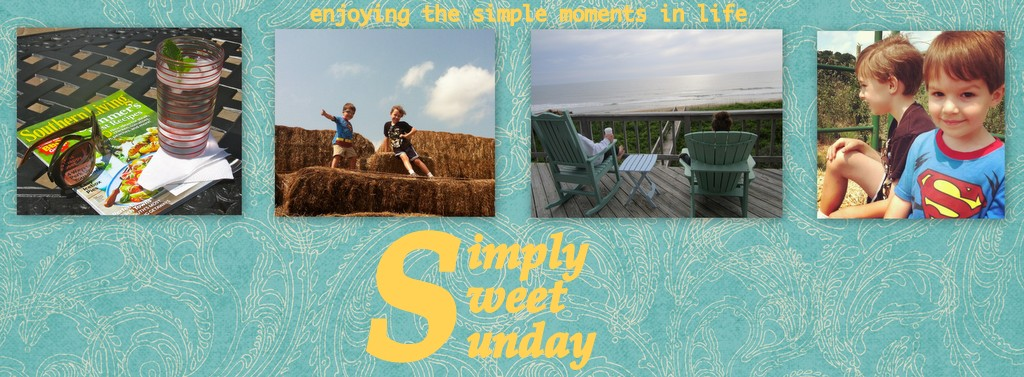Simply Sweet Sunday