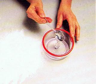 mezclar glucosa y agua