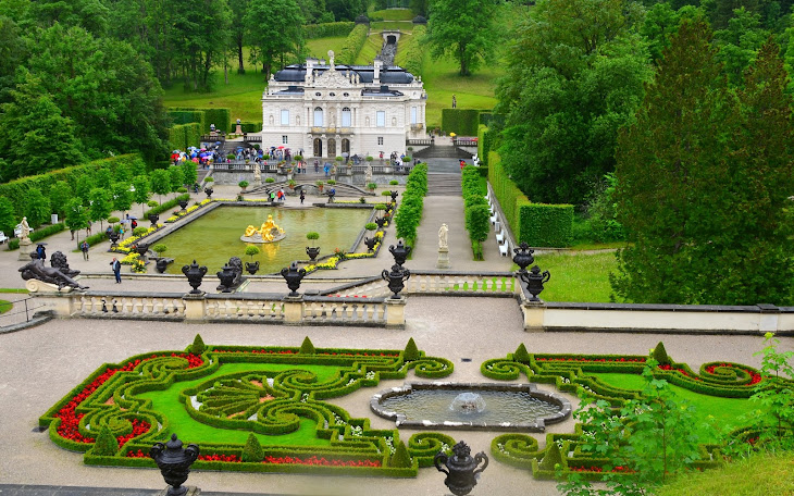 Linderhof Palace in Germany