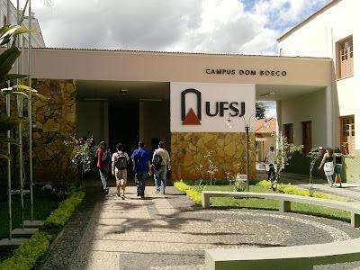 Entrada do Campus Dom Bosco - UFSJ