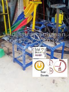 Mesin Gulung Tali Rafia Kecil Twin Otomatis