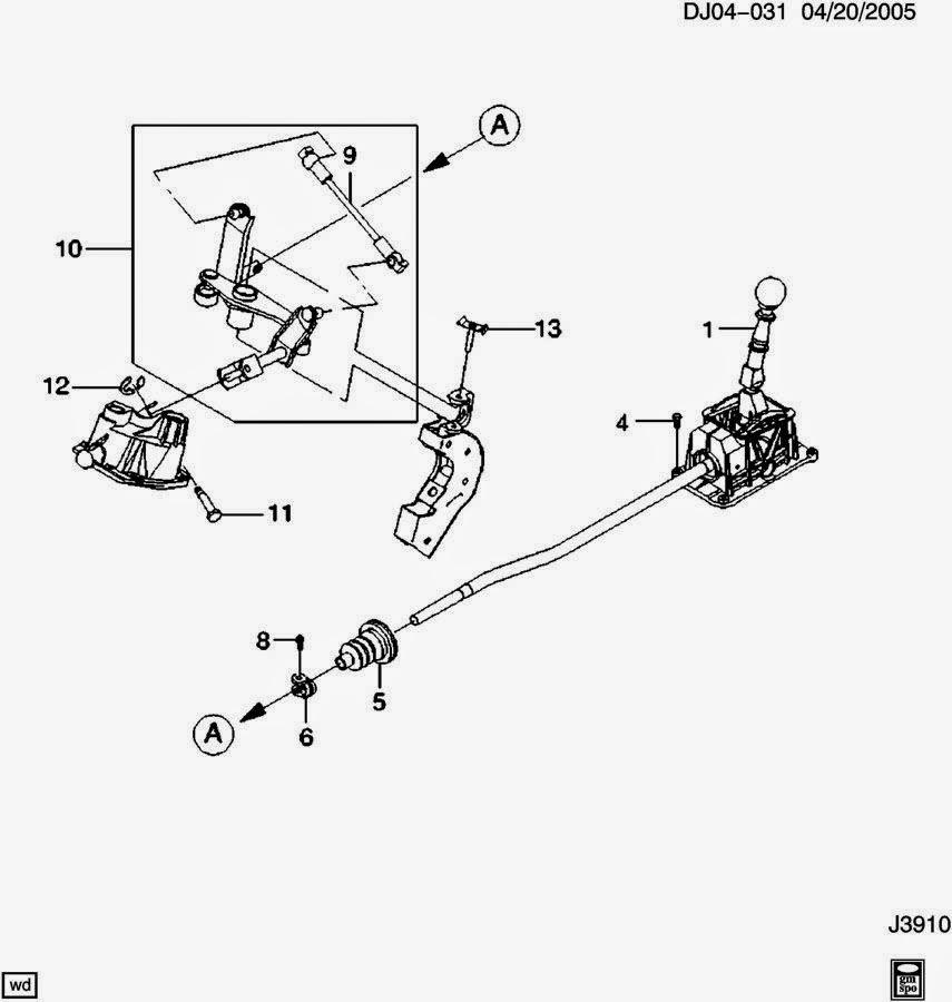 Diagrama del cilindro maestro enano de Mg