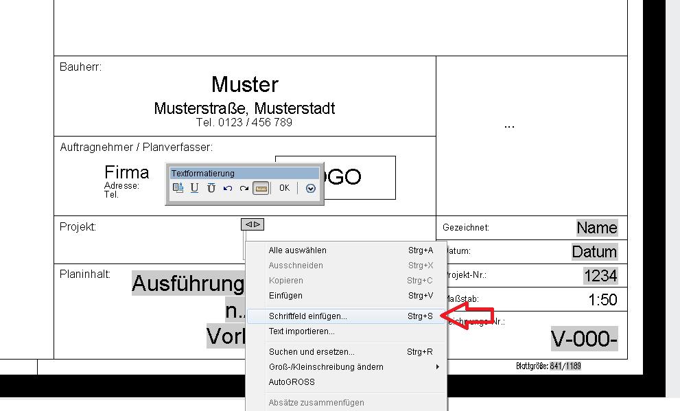 K.´s AutoCAD Blog: Vorlagenzeichnung für Plansatz erstellen